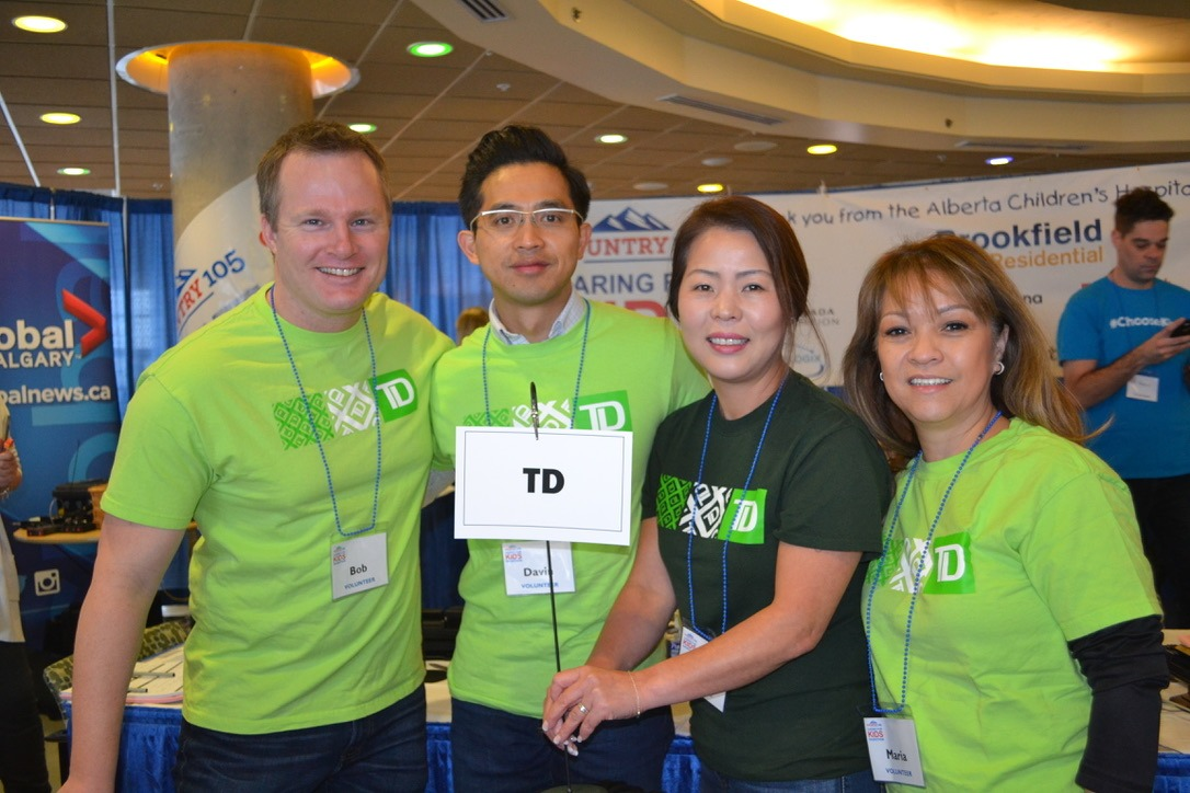 Team TD at Radiothon
