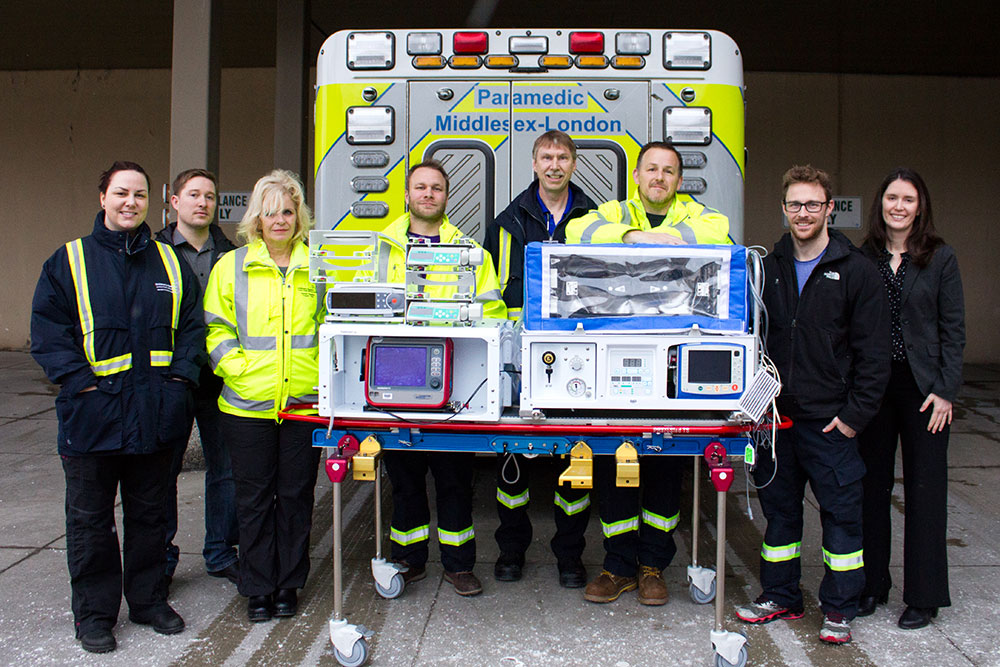 Middlesex-London paramedic team photo