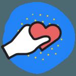 Icon - Heart Hand