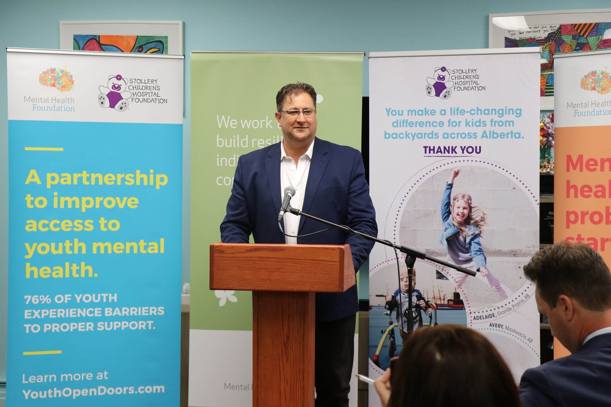 Stollery Children's Hospital Foundation announced a historic $5M gift to Mental Health Foundation (MFH) in support of youth mental health