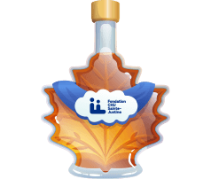 Sainte Justine Foundation Maple Syrup
