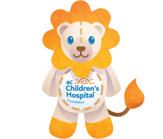 BC Children's Hospital Plush Lion