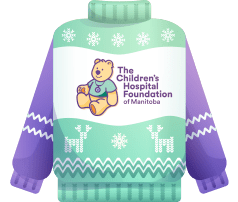 The Children's Hospital Foundation of Manitoba Teddy Sweater