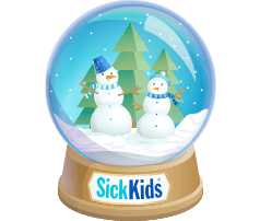 Sick Kids Foundation Snow Globe