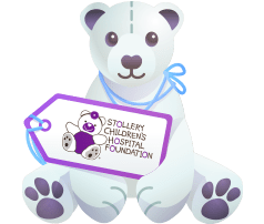 Stollery Children's Hospital Foundation Bear