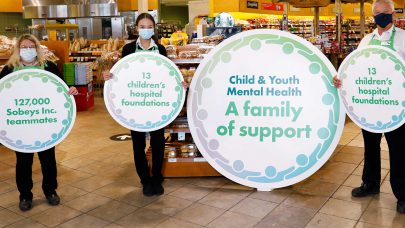 CCHF Announces Partnership with Sobeys Inc.
