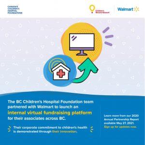 CCHF walmart virtual fundraising instagram social card