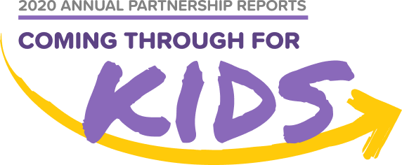 Coming through For Kids Logo