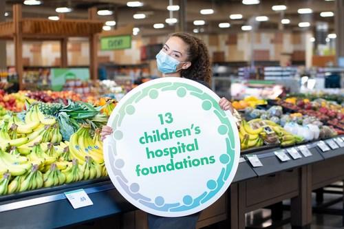 Un coéquipier de Sobeys Inc. est fier de manifester son appui à l'initiative A Family of Support : Child & Youth Mental Health Initiative et sa deuxième campagne de financement annuelle. (Groupe CNW/Canada's Children's Hospital Foundations)